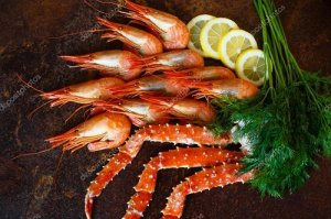 depositphotвмвкпos_143622493-stock-photo-beautiful-crab-claw-with-shrimp
